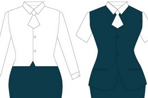制服设计与职业装设计之区别